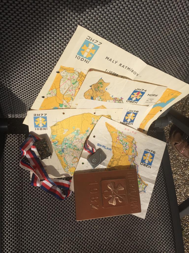 Historické mapy Interkompas